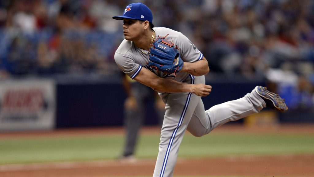 Blue Jays Osuna Baseball