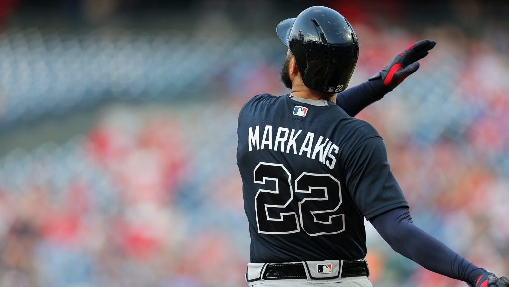 Nick Markakis is opting back in