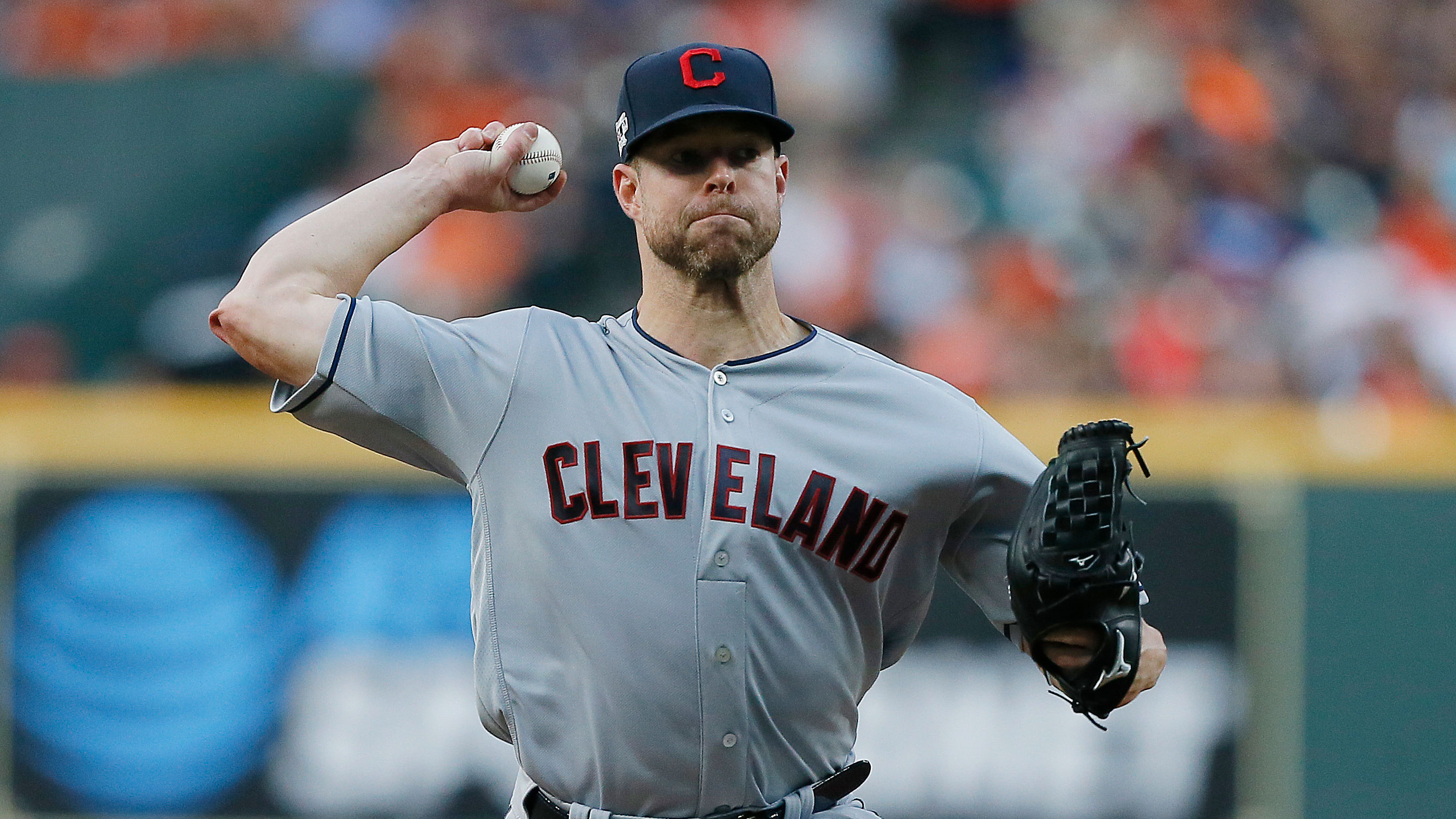 Indians close to trading ace Kluber to Rangers