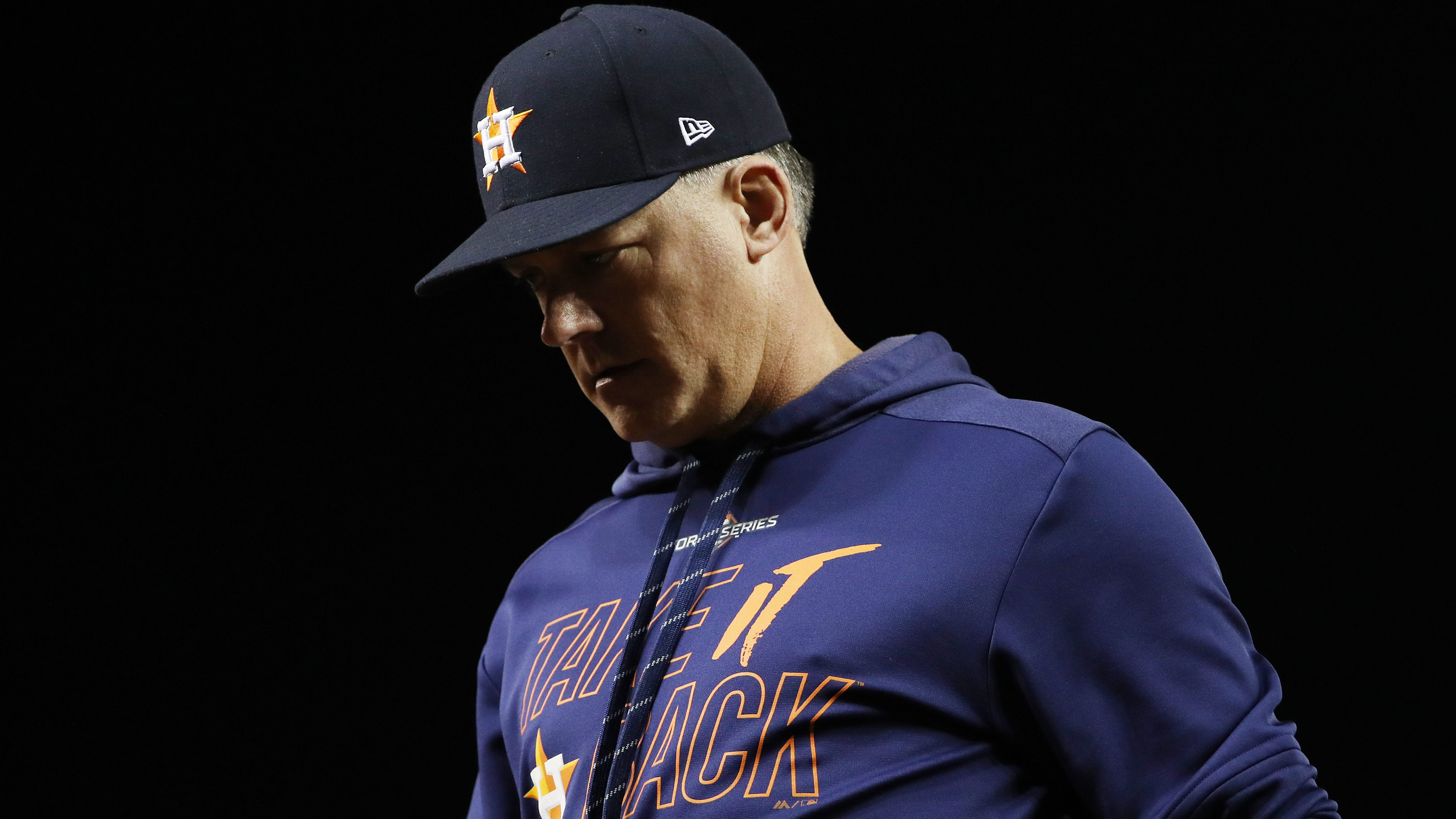 A.J. Hinch releases statement after being suspended and fired