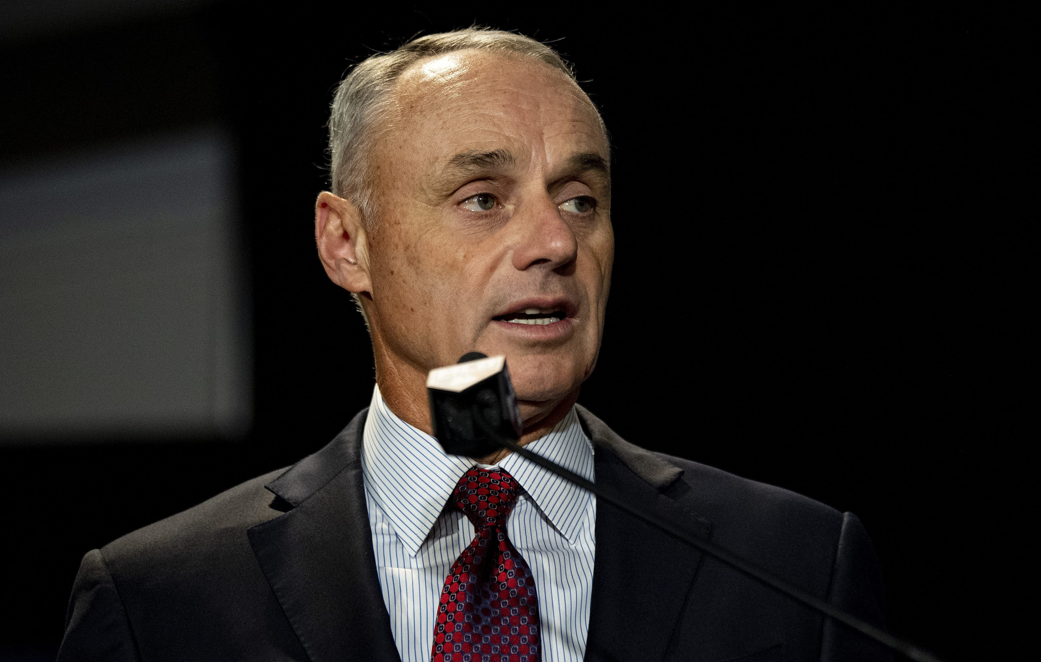 Rob Manfred must answer for his mishandling of the sign-stealing scandal - HardballTalk   NBC Sports