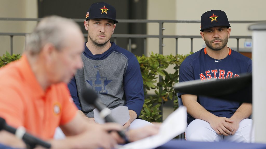 Alex Bregman and José Altuve