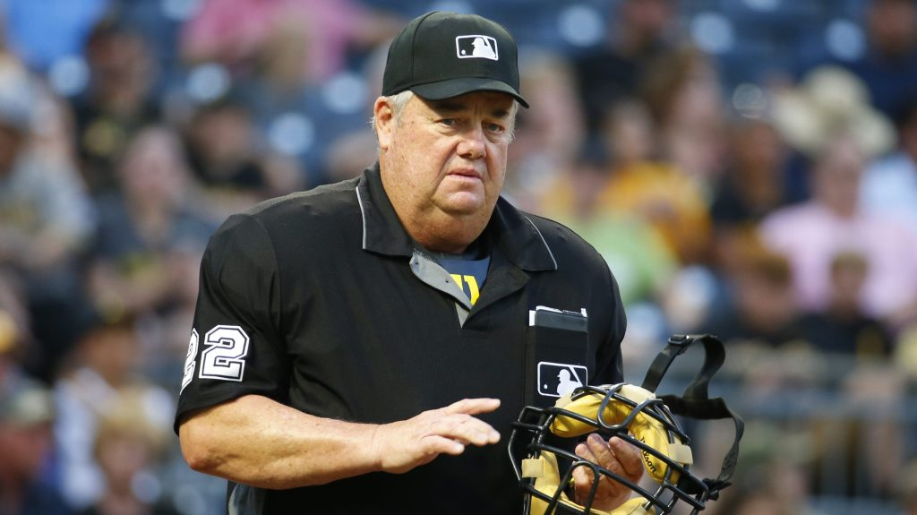 Joe West exits game