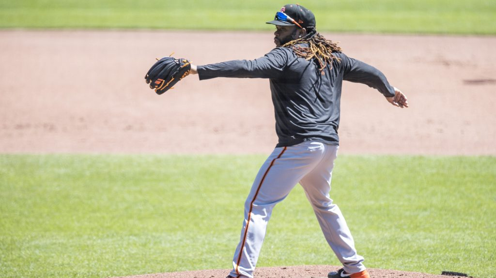 Johnny Cueto Opening Day