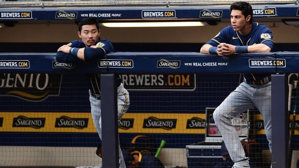 Brewers roster and schedule