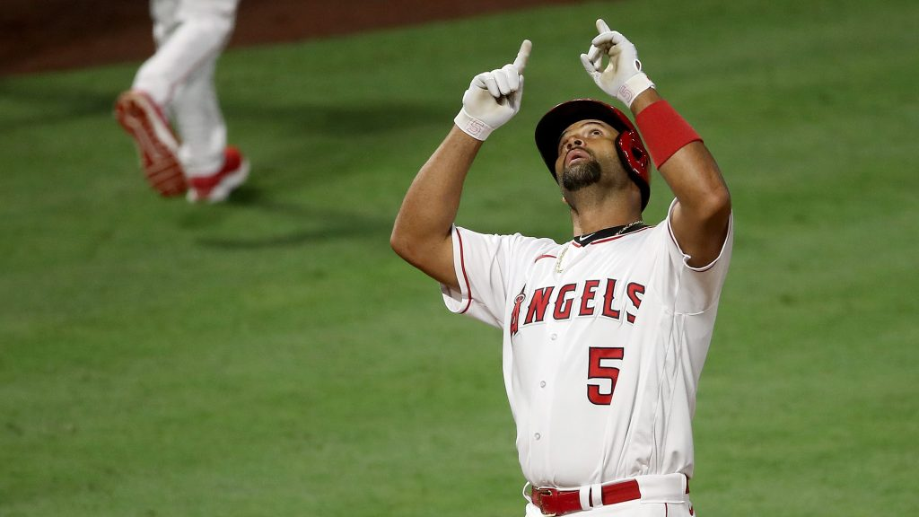 Albert Pujols grand slam