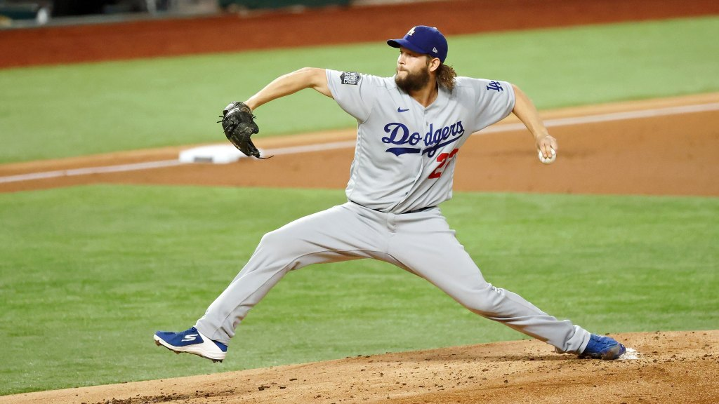 Clayton Kershaw stops steal of home, hands Dodgers 3-2 Series lead
