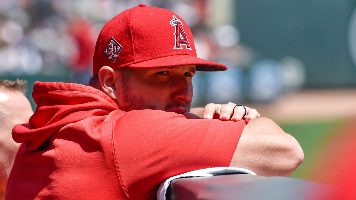 Angels GM reiterates no plans to shut down Trout for year