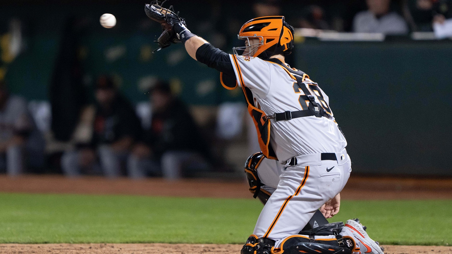 Giants' Posey out, Crawford in lineup day after injuries