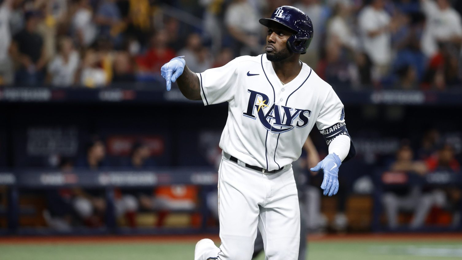 Arozarena shines, Rays blank Red Sox 5-0 in ALDS opener